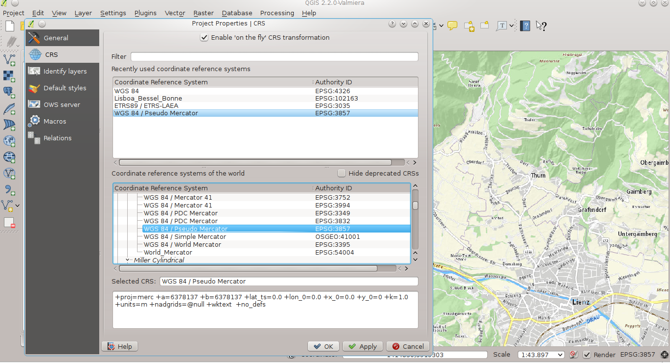 Use BaseMap-Austria (basemap at) with QGIS 2 x and ArcGIS