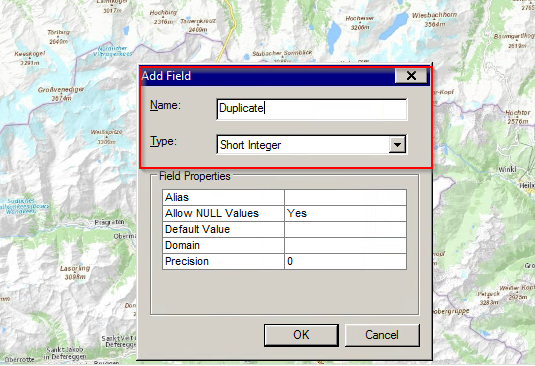 how to add number value to arcmap attribute table