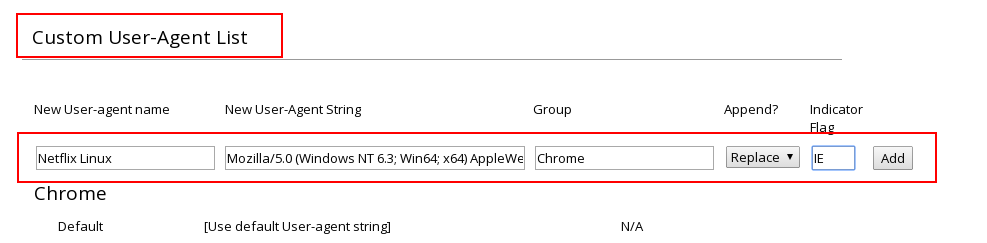 Netflix Linux Chrome