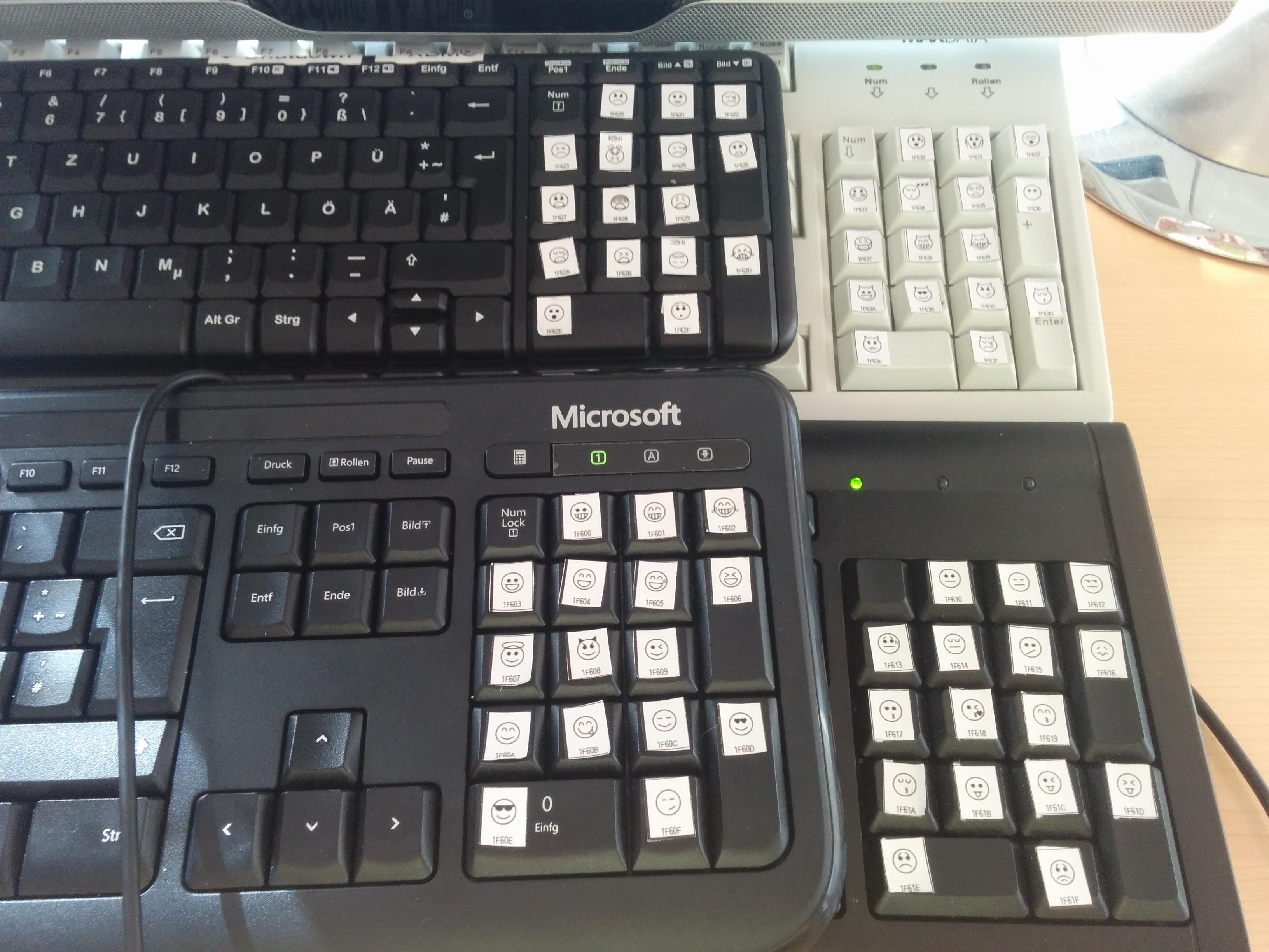 Emoji Keyboard Linux Version | iSticktoit net