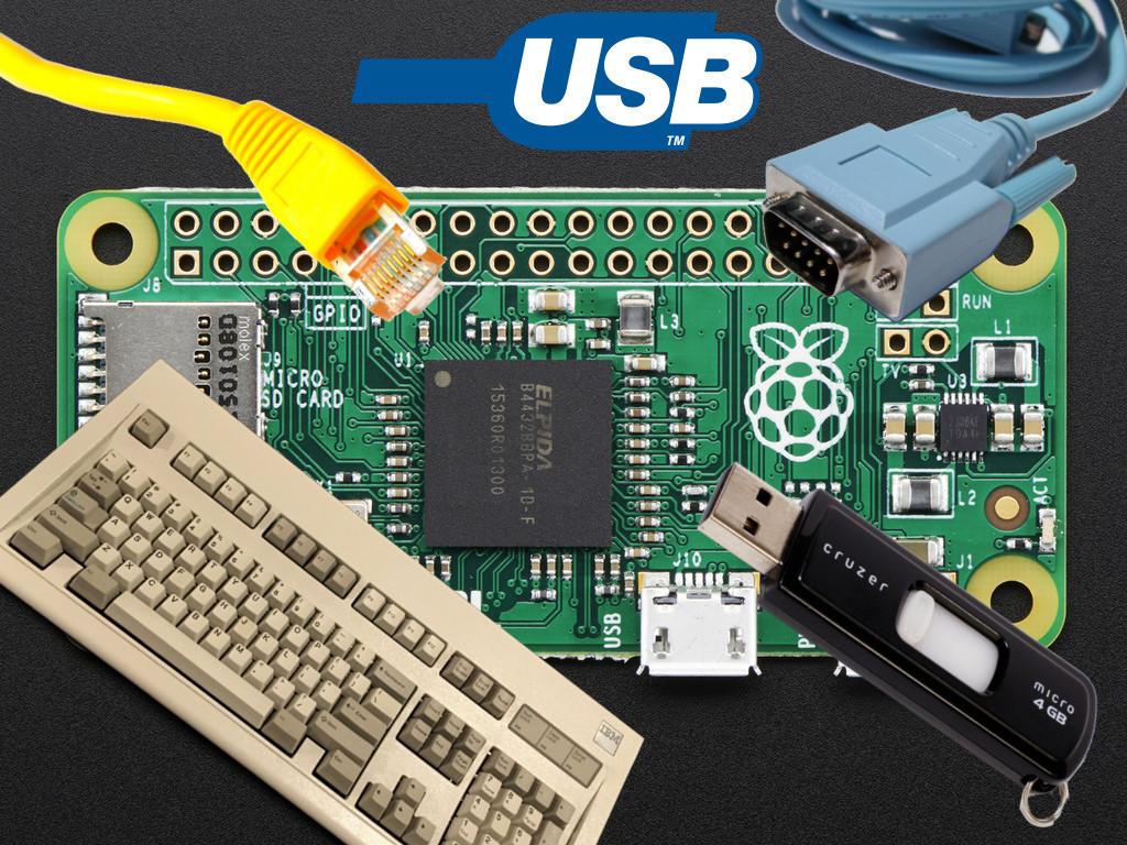 Composite USB Gadgets on the Raspberry Pi Zero | iSticktoit net