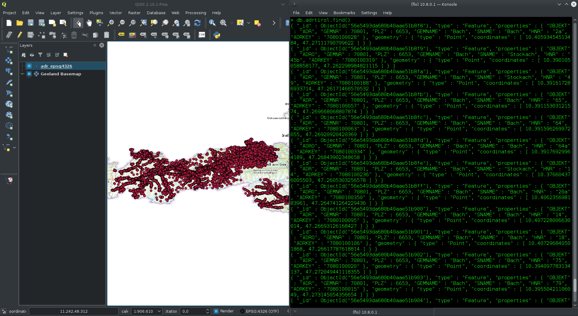 MongoDB and geodata part 1 – from Shapefile to MongoDB 3 2