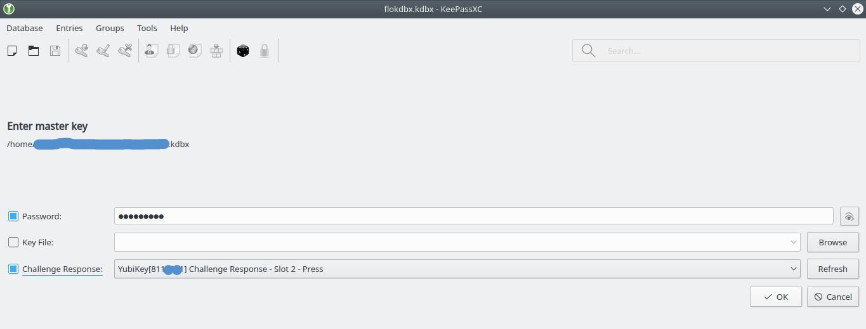 Strong team: YubiKey and Keepass (Linux)   iSticktoit net